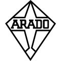 "Arado Decal/Sticker 5.9"" high by 5"" wide!"