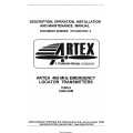 Artex 406 MHz C406-2, C406-2HM Emergency Local Transmitters Description, Operation, Installation and Maintenance Manual