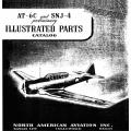 North American AT-6C and SNJ-4 Preliminary Illustrated Parts Catalog NA-5578 1942