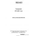 Becker Avionics Transponder ATC 4401-1 Installation and  Operation Manual 2004