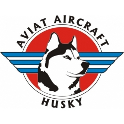 Aviat Husky Aircraft Logo Decals!