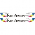 Avid Aircraft Decal,Sticker 2 1/2''high x 13 1/2''wide!