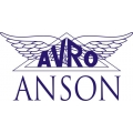 Avro Anson Aircraft Logo,Decal/Stickers!