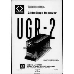 Narco UGR-2 UGR 2 Glideslope Receiver Maintenance Manual 03502-0670