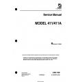 Cessna Model 411-411A Service Manual D609-6-13 $29.95