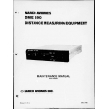 Narco DME-890 DME 890 Distance Measuring Equipment Maintenance Manual 03314-0600  $29.95
