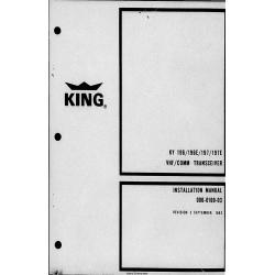 Bendix King KY-196-197E KY 196 197E Installation/Maintenance/Overhaul Manual 006-0169-03 $29.95