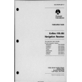 Collins VIR-350  VIR-351 Navigation Receiver IND-350-351-351C Indicator, IND-350A-351-351D IND Indicator and PWC-150 Power Converter Instruction Book 523-0766704-00311A