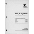Collins VHF-250-250S-250E VHF-251-251S-251E Communications Transceiver and PWC-150  Power Converter Instruction Book 523-0766705-00311A $19.95