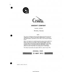 Cessna Model P206, TP206, U206, 177RG, 182, 210, 337 1969-1973 Avionics Installations Service/Parts Manual D4509-13 $29.95
