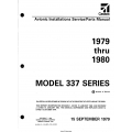 Cessna Model 337 Series (1979 thru 1980) Avionic Installations Service/Parts Manual D4592-2-13 $29.95