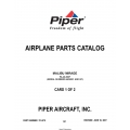Piper Malibu Mirage PA-46-350P (Serial Numbers 4636001 and UP) Parts Catalog 761-878 v2007 $19.95