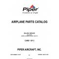 Piper Malibu Mirage PA-46-350P (Serial Numbers 4636001 and UP) Parts Catalog 761-878 v2007