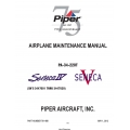 Piper PA-34-220T Seneca IV/V (SN's 3447001 thru 3447029) Maintenance Manual 761-888 v2012 $19.95