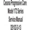 Cessna Progressive Care Model 172 Series Service Manual D5102-3-13 $9.95
