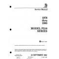 Cessna Model P210 Series (1978 thru 1983) Service Manual D2058-2-13 $19.95