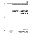 Cessna Model 300-400 Series Component Maintenance Manual D5266-2-13 $13.95