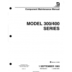 Cessna Model 300-400 Series Component Maintenance Manual D5266-2-13