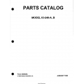 Continental Model IO-240-A-B Parts Catalog X30623A