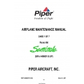 Piper PA-44-180 Seminole (S/N's 4496001 & UP) Maintenance Manual 761-892_v2007 $29.95