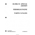 Continental Model IO-550-C31 Permold Engine Parts Catalog IPC550C31 $13.95