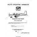 Gulfstream Model AA-5B Tiger Pilot's Operating Handbook 1977/1978/1979