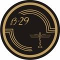 Boeing B-29 Aircraft Decal,Sticker/Vinyl Graphics 3''round!