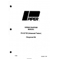 Piper PA-42-720(Advance Trainer) Cheyenne IIIA Wiring Diagram Manual 761-853