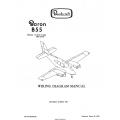 Beechcraft Baron B55 (Serials TC-1913, TC-1936 AND AFTER) Wiring Diagram Manual 96-590011-15C