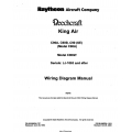 Beechcraft King Air C90A-C90B-C90-C90GT (Serials: LJ-1063 and after) Wiring Diagram Manual 90-590024-11C9 $19.95