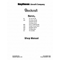 Beechcraft Baron 55 A-B-C-D-E-55 58 Shop Manual $19.95