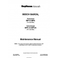 Beechcraft Baron 58P-PA-TC-TCA Maintenance Manual $29.95