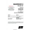 Piper Warrior II PA-28-161 Pilot's Operating Handbook $19.95