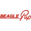 Beagle Pup Aircraft Decal/Sticker 10''w x 2.75''h!