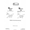 Beechcraft Baron E55(Serials TE-1064 AND AFTER) 58(Serials TH-598, TH-648 Thru TH-1395 Except TH-1389) Wiring Diagram Manual 96-590010-15D1 $19.95