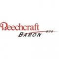 Beech Baron B58 Aircraft Logo,Decals!