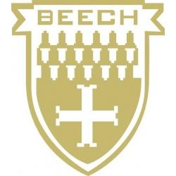 Beechcraft Medallion Yoke Aircraft Emblem Decal,Sticker!