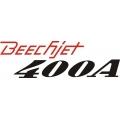 Beechjet 400A Aircraft Logo,Decal/Sticker 5.5''h x 17''w!