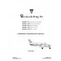 Beechcraft King Air Model 90 Component and Maintenance Manual  Revised December 1981 $19.95