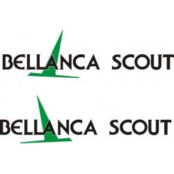 Bellanca Scout Aircraft Decal!