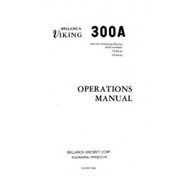 Bellanca Viking 300A Operations Manual$13.95