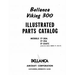 Bellanca Viking 300 Parts Catalog 17-30A-31A-31ATC $13.95