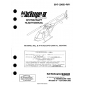 Bell Model 206B Jet Ranger-III Rotorcraft Flight Manual BHT-206B3-FM-1