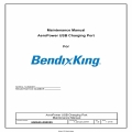 Bendix King AeroPower USB Charging Port Maintenance Manual 600845-000029