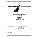 Limbach Flugmotoren L 1700, L 2000 and L 2400 Series Engine Installation Manual (Part Number 905.170.010.000)$ 13.95