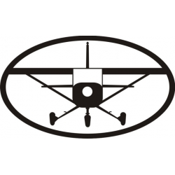 """Black Plane Decal/Vinyl Sticker 10"""" wide x 5.9"""" high!"""