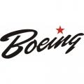 Boeing Script Aircraft Decal/Sticker 6.4''high x 10.6''wide!