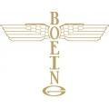 "Boeing Aircraft Decal/Sticker 7.8"" high x 10"" wide"
