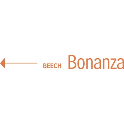 Beechcraft Bonanza Aircraft Logo Decal//Vinyl Sticker!