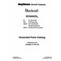 Beechcraft Bonanza 36, A36, A36TC & B36TC Parts Catalog Rev.2005